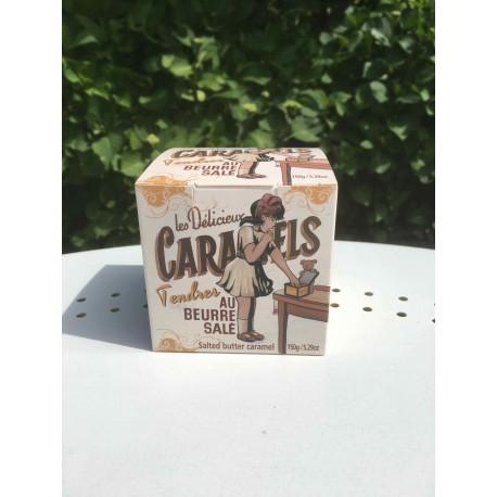 Boite de caramels tendres au beurre salé