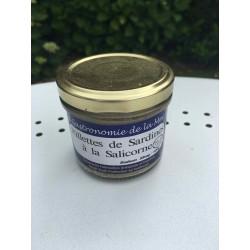 Rillettes de sardines à la salicorne 90g