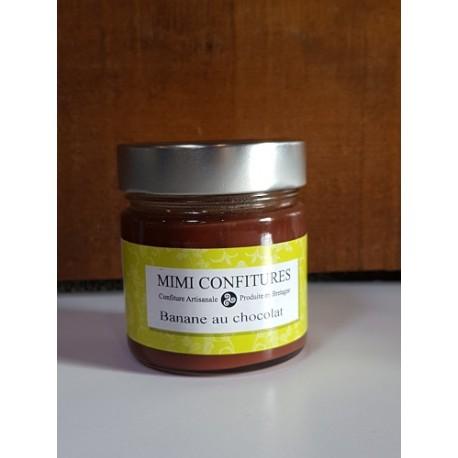 Mimi confitures banane chocolat 240g