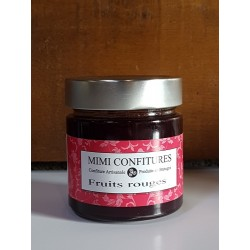 Mimi confitures fruits rouges 240g