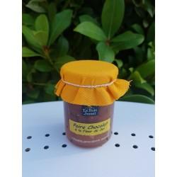 Confiture poire chocolat à la fleur de sel 120g