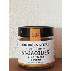 Confit de Noix de St-jacques à la Bretonne