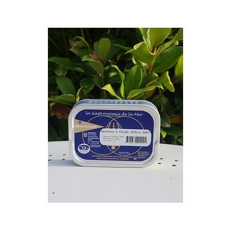 Sardines à l'huile d'Olive BIO 115g
