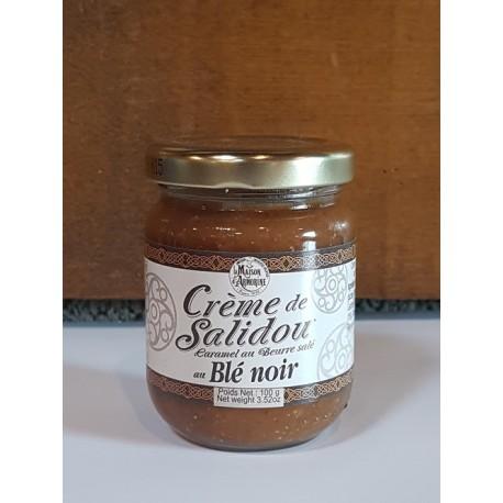 Crème de Salidou caramel au beurre salé au blé noir 100g