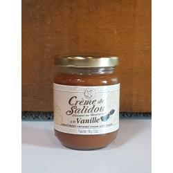 Crème de Salidou caramel au beurre salé  à la vanille 100g