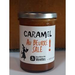 Caramel au beurre salé Biscuiterie des Vénètes 220g