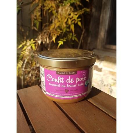 Confit de porc caramel beurre salé La ferme du Boschet 380g