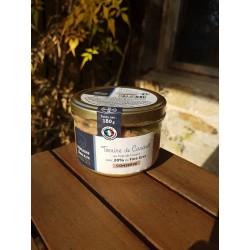 Terrine de Canard au foie de canard avec 20% de foie gras - Domaine de Lanvaux 180g