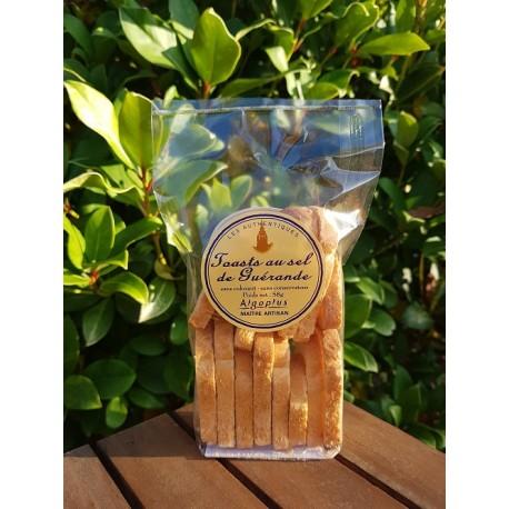 Toasts au sel de Guérande - Les Authentiques 58g