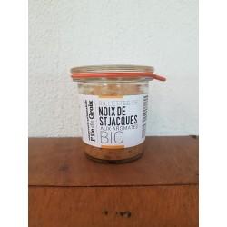 Rillettes de noix de Saint Jacques aux aromates BIO
